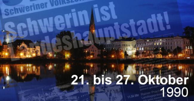 Schwerin wird Landeshauptstadt