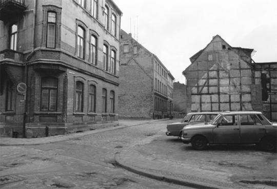 Schwerin im Jahr 1990