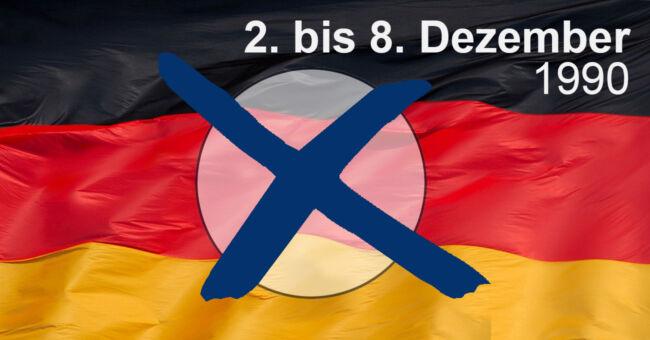 Die Bundestagswahl 1990