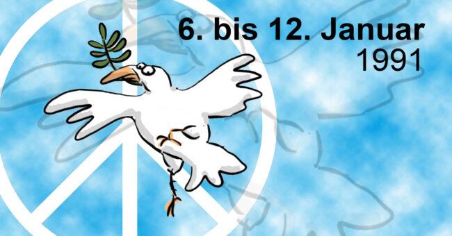Demos für den Frieden