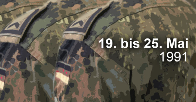 Die Bundeswehr rückt an