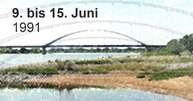 Brücke in Sicht
